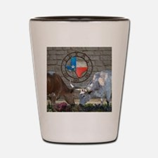 Texas Longhorns In Love Shot Glass