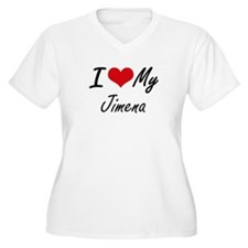 I love my Jimena Plus Size T-Shirt
