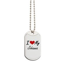 I love my Johanna Dog Tags