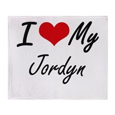 I love my Jordyn Throw Blanket