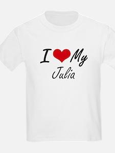 I love my Julia T-Shirt