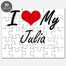 I love my Julia Puzzle