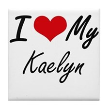 I love my Kaelyn Tile Coaster
