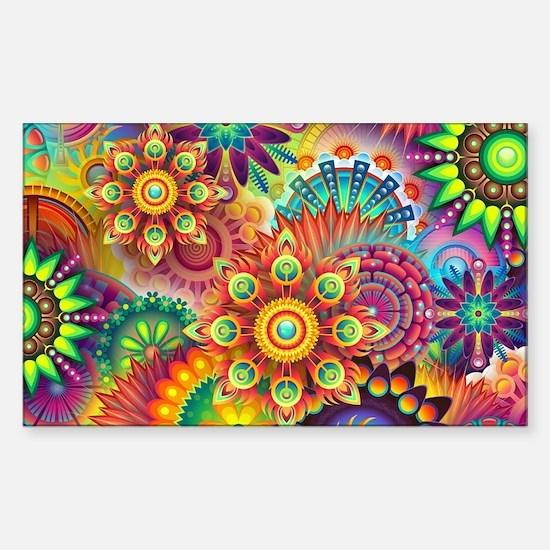 Cute Colorful Sticker (Rectangle)