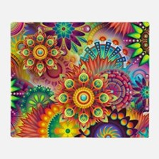 Unique Colorful Throw Blanket