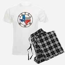 Texas Wrought Iron Barn Art Pajamas