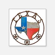 Texas Wrought Iron Barn Art Sticker
