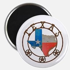 Texas Wrought Iron Barn Art Magnets