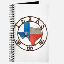 Texas Wrought Iron Barn Art Journal