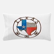 Texas Wrought Iron Barn Art Pillow Case