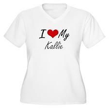 I love my Kallie Plus Size T-Shirt