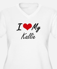 I love my Kallie Plus Size T-Shirt