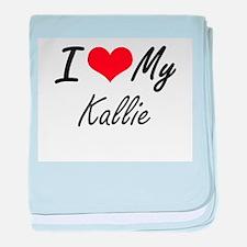 I love my Kallie baby blanket