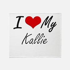 I love my Kallie Throw Blanket