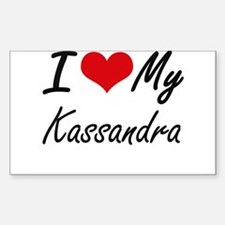 I love my Kassandra Decal