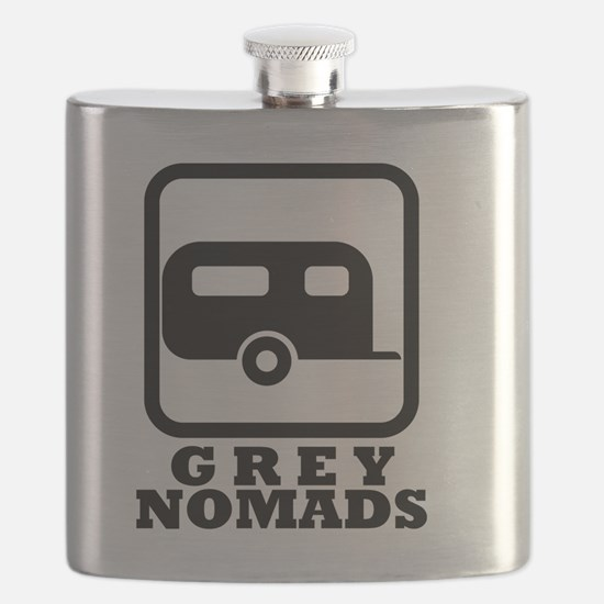 Cute Grey nomad Flask
