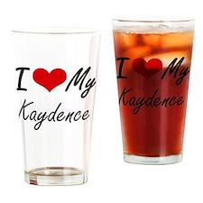 Cute Kaydence Drinking Glass