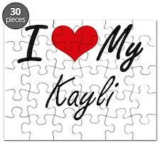 I love my Kayli Puzzle
