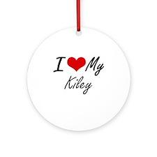 I love my Kiley Round Ornament