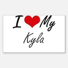 I love my Kyla Decal