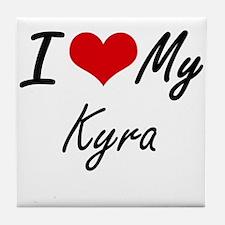 I love my Kyra Tile Coaster