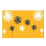 Modern Dandelion Art Postcards (Package of 8)
