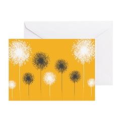 Modern Dandelion Art Greeting Cards (Pk of 20)