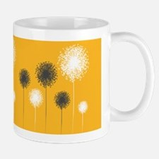 Modern Dandelion Art Ceramic Coffee Mug