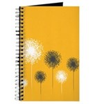 Modern Dandelion Art Journal