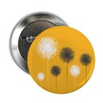"Modern Dandelion Art 2.25"" Button (100 pack)"