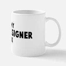 Interior Designer costume Mug