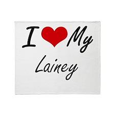 I love my Lainey Throw Blanket