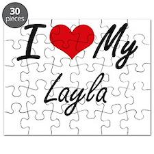 I love my Layla Puzzle