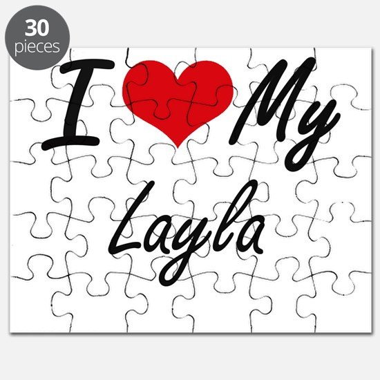 I love my Layla Puzzle