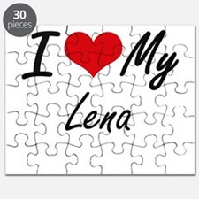 I love my Lena Puzzle