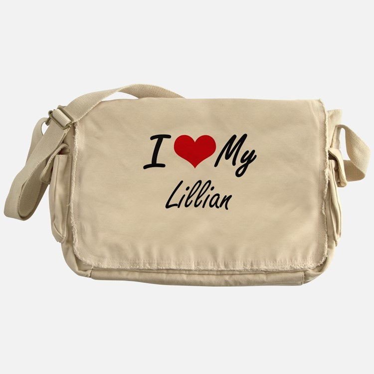 I love my Lillian Messenger Bag