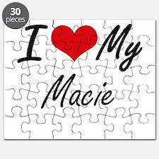 I love my Macie Puzzle
