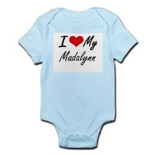 I love my Madalynn Body Suit
