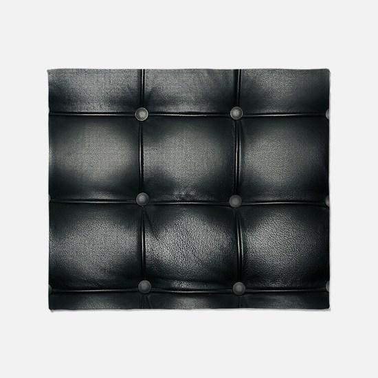 Leather Sofa Texture Throw Blanket