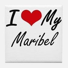 I love my Maribel Tile Coaster