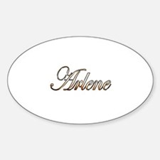 Cute Arlene Sticker (Oval)