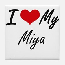 I love my Miya Tile Coaster