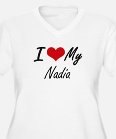 I love my Nadia Plus Size T-Shirt