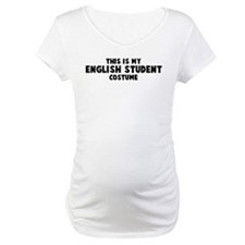 English Student costume Shirt