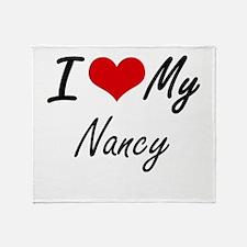 I love my Nancy Throw Blanket
