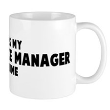 Food Service Manager costume Mug