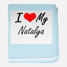 I love my Natalya baby blanket
