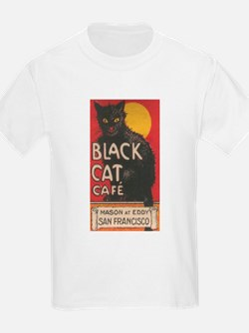 Funny Vintage black cats T-Shirt