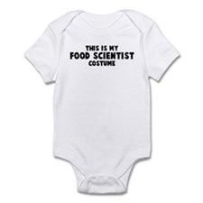 Food Scientist costume Infant Bodysuit