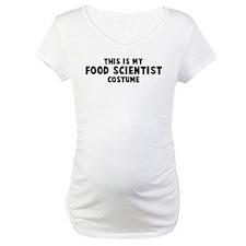 Food Scientist costume Shirt